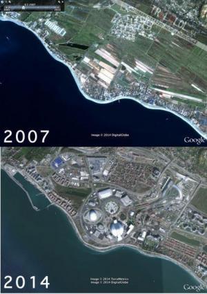 Sochi - proměna