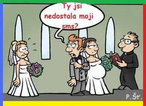 Rozchod přes sms před svatbou