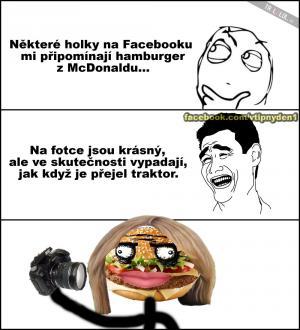 Facebook vs. Realita