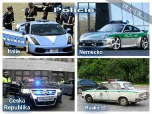 Policie ve světě