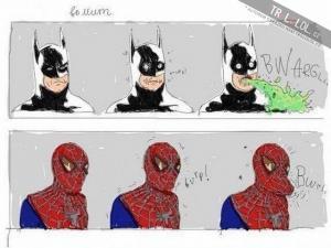 Nevýhoda toho, být spiderman