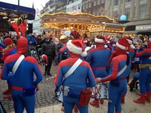 Spidermanští santové