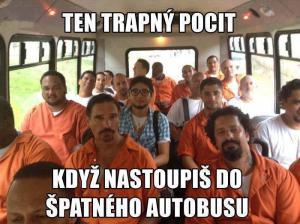 Špatný autobus
