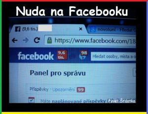 Nuda na FB