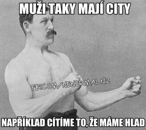 City mužů