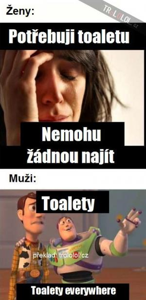 Toalety