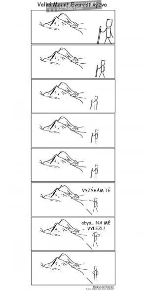 Mount Everest výzva