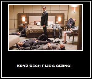 Když vezmeš Čecha na chlastačku