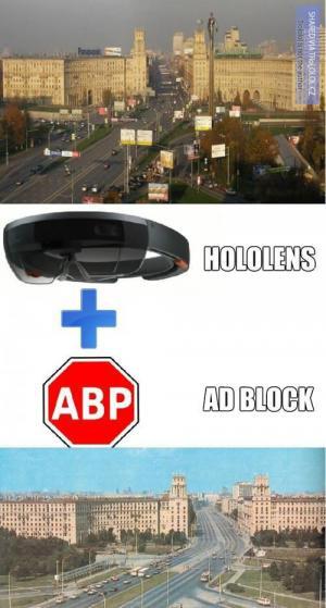 Hololens   adblock