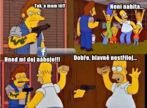 Homer nezklame:D