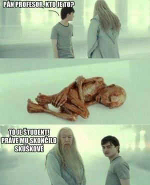 Student po zkouškovém
