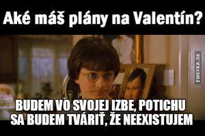 Plány na Valentýn