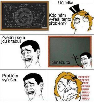 Kdo vyřeší problém?