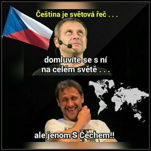 Čeština je světová řeč