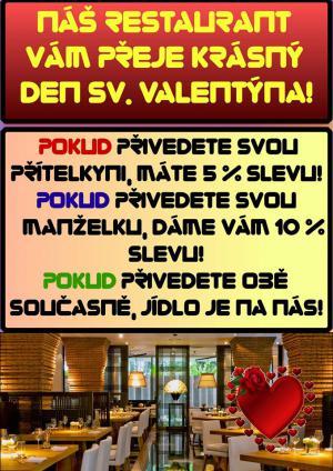 Akce na Valentýna