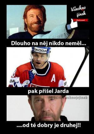 Jágr vs Chuck