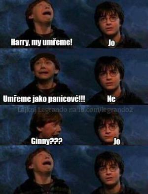 Harry, my umřeme!