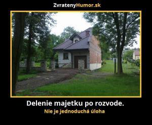 Dělení majetku