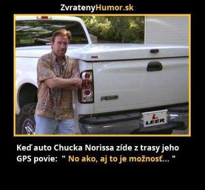 GPS Chucka Norris