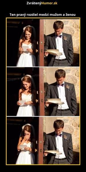 Pravý rozdíl mezi mužem a ženou