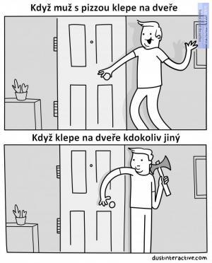 Když je někdo za dveřmi