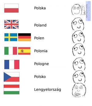 Polsko jinak v jiných zemí