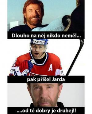 Jarda Jágr vs Chuck