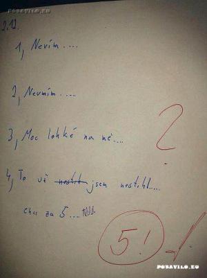 Písemka