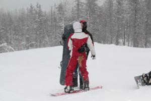 Momentka na sněhu