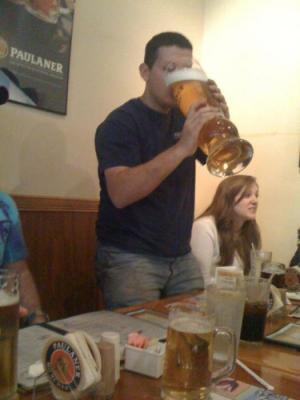 Maxi sklenice na pivo