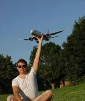 Chytím letadlo