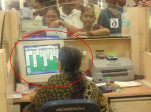 Indická úřednice