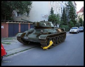 Botička na tanku