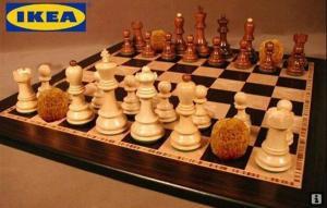 Nové šachy ala Ikea