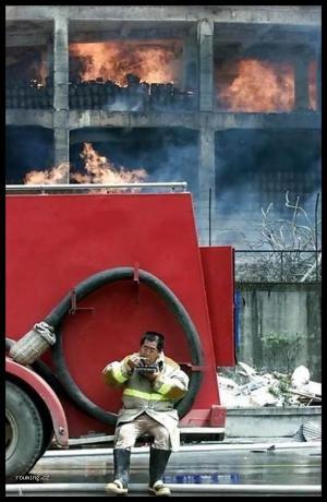 Svačina hasiče