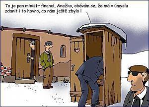 Návštěva ministra