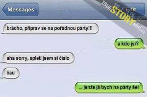 Příprava na pořádnou party