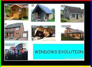 Windows evoluce
