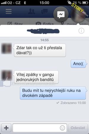 Kamarádova SMS