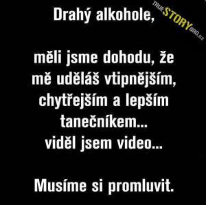 Drahý alkohole