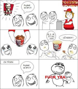 Návštěva chlapců v  KFC