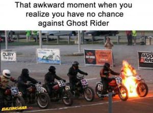 Proti Ghost riderovi nemáš šanci!