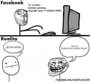 FB vs realita