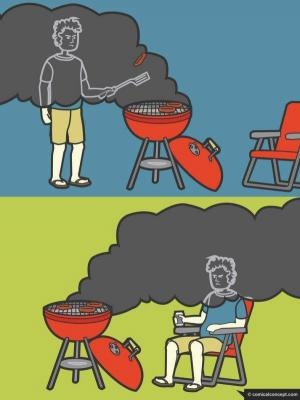 Schválnost kouře