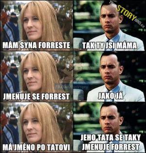 Forrest nechápe