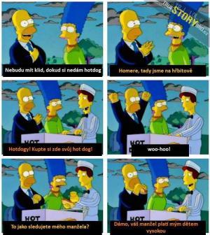 Homer vydělává