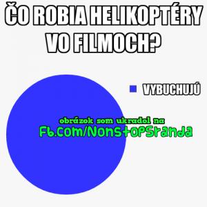 Helikoptéry ve filmech