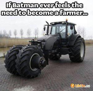 Batman farmářem