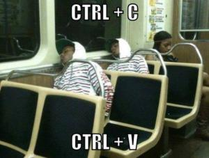 Ctrl+c+v
