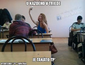 U každého ve třídě